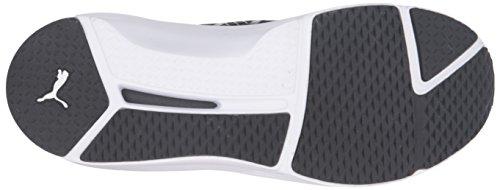 PUMA Women's Fierce Eng Mesh Cross-Trainer Shoe, Black White, 9.5 M US by PUMA (Image #3)