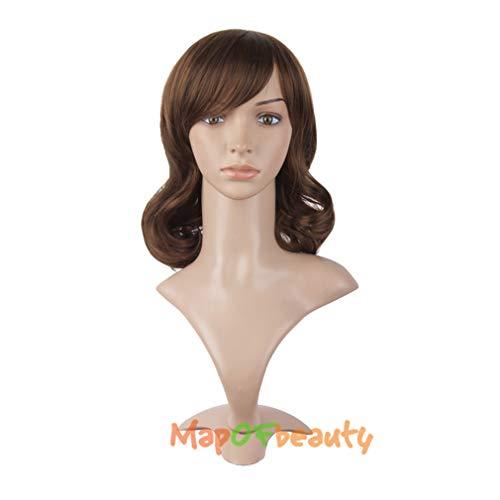 - loyasun Cosplay Wigs Black Dark Light Brown 16