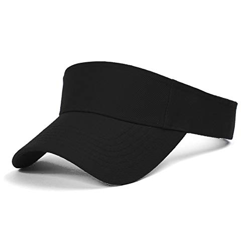 TOP HEADWEAR TopHeadwear Blank Kids Visor - Black