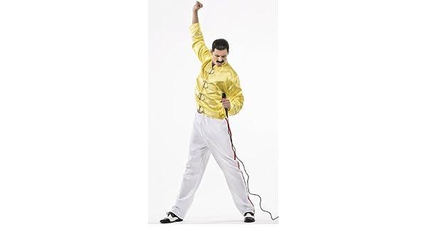 Disfraz de Freddie Mercury para hombre: Amazon.es: Juguetes y juegos