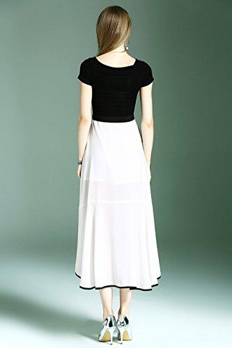 Irregularity Dresses Slim Dress A cotyledon 1 Piece Line Women`s Fit FcHwqYA