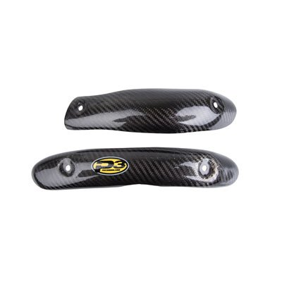 (P3 Carbon Head Pipe Heat Shield Stock for Yamaha YZ450F 2014-2018)