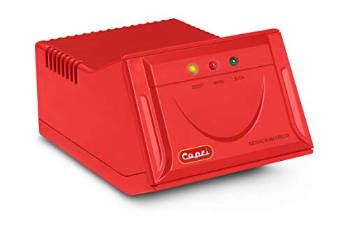 CAPRI Electronic Voltage Stabilizer for 300 Litre Refrigerator  red