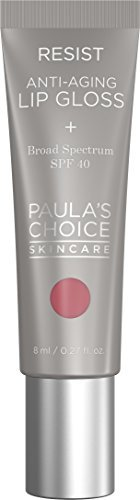 Paula's Choice RESIST Anti-Aging Lip Gloss SPF 40 with Coconut Oil - Sheer Pink