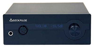 LH Labs LH-GP-GPX-001 DAC & Headphone Amplifier, Black