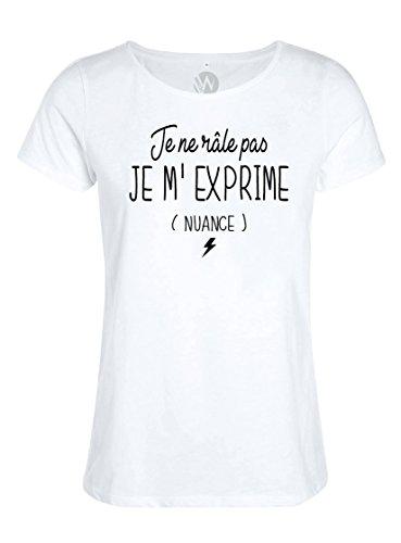 Kss Femmes Je T Message Râle Pas Humour Ne Shirt Top jLAR45