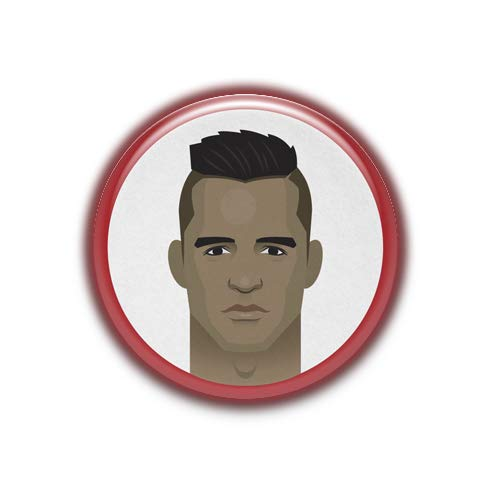 Alexis Sanchez : Football Stars, Pinback Button Badge 1.99 Inch (38mm)