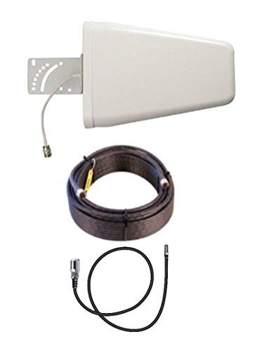 10dB Yagi LTE Antenna Kit w/50ft Coax Verizon Novatel Jetpack MiFi 7730L