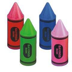 Crayon Banks - Multi Color 5 1/2