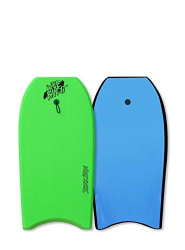 Catch Surf Wave Bandit Shockwave 42'' Short Surf Board, Neon Green by Catch Surf