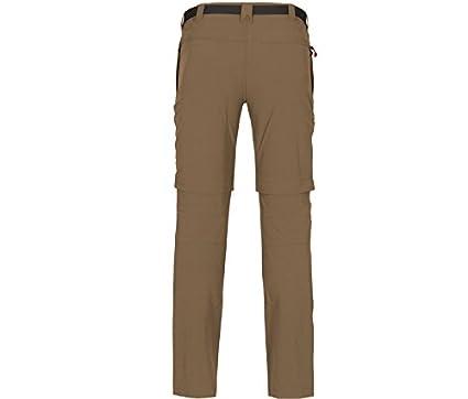 Bielastische Outdoorhose Bermuda Zip-Off Bergson Herren Zip-Off Funktionshose Baker dryprotec Gewebe pflegeleicht schnelltrocknend