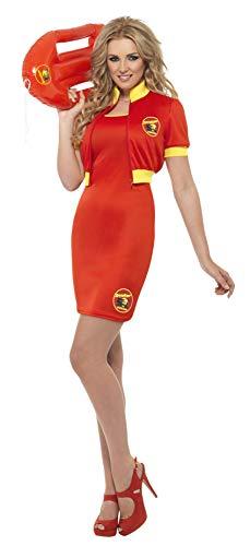Smiffy's Women's Baywatch Beach Lifeguard Costume, Dress & Jacket, Baywatch, -