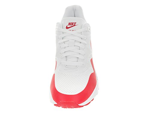 Nike Wmns Air Max 1 Ultra Moire, Zapatillas de Deporte para Mujer Blanco (Summit White / Unvrsty Red-White)