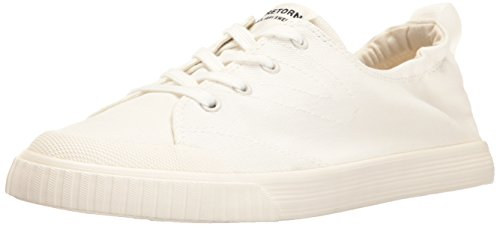 Tretorn Women's Meg Sneaker, Vintage White White, 8 Medium US (Shoes Vintage Sneakers)