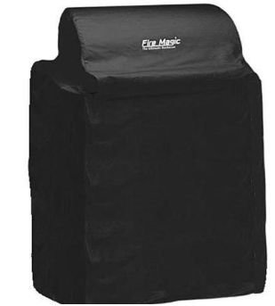 Fire Magic Grill Cover For Echelon E1060 Gas Grill On Cabinet Cart