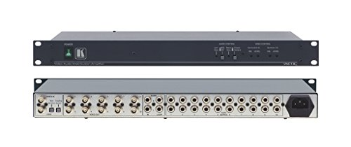 Kramer Electronics (VM-10xl) 1:10 RCA Composite Video and Stereo Audio Distribution Amplifier