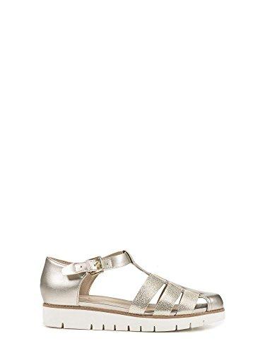 Geox Darline - Sandalias de vestir de Piel para mujer dorado dorado