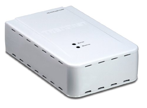 TRENDnet 1-Port Multi-Function Print Server TE100-MP1UN (White) by TRENDnet