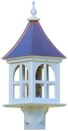 The Birdhouse Chick – Copper Bird Feeder-PVC 28×12 For Sale