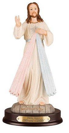 Divine Mercy Statue - By Florentine 12 by Catholic Gift Shop Ltd - Lourdes Florentine Statue