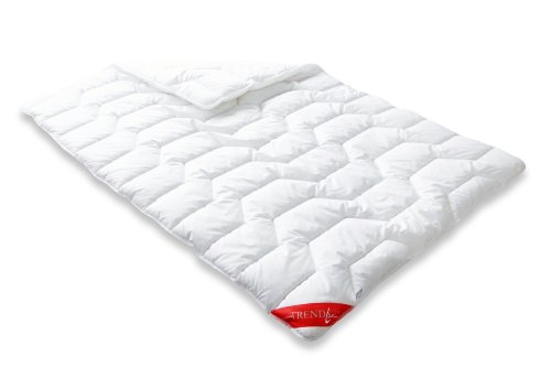 Badenia Bettcomfort 03857230140 Steppbett Trendline Basic kochfest Duo 135 x 200 cm weiß