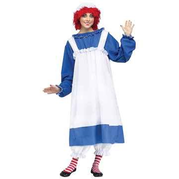Raggedy Ann Andy Costumes Adults (Raggedy Ann Costume - Adult Costume)