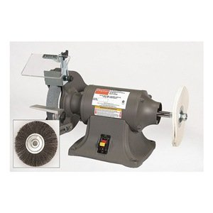 Bench Grinder/Buffer, 8 In by Dayton