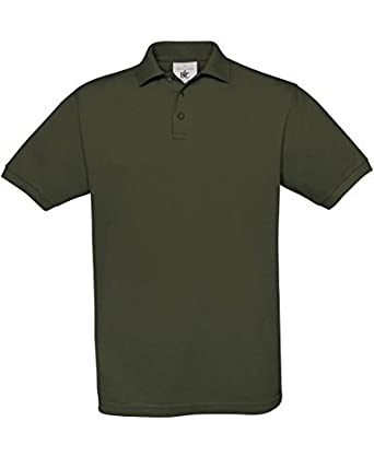 B&C Safran Mens Polo Shirt / Mens Short Sleeve Polo Shirts (XL ...
