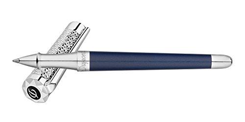 S.T. Dupont Liberté Rollerball pen, Lacquer, Palladium trim, Blue, 462017 ()