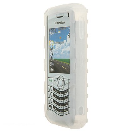 research-in-motion-rim-blackberry-pearl-8130-premium-bumper-grip-clear-silicone-skin-case-cover