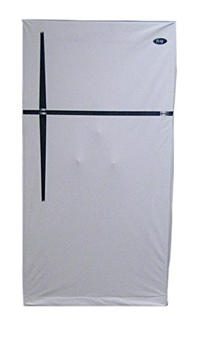 Gun Safe Cover by Safe Cloak, Makes Your Safe Look Like a Refrigerator, Premium Quality Protection for Your Valuables, 25x25x60 Inches, White