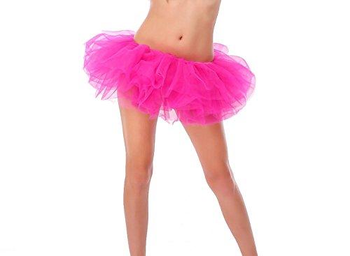 Hot Pink Tutu (Buenos Ninos Women Tutu Boutique Ballerina Skirt (rosy))
