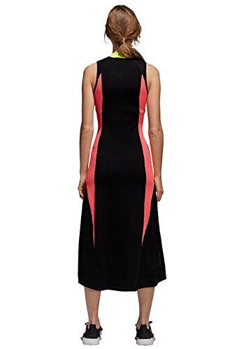 Abito 42 Sportivo Nero KNIT FLARED Donna CE0977 Vestito AA adidas BLACK 57qffC