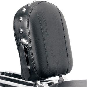 Studded // 12 X 9 Mustang Medallion Style Setback Sissy Bar Pad