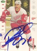Original Card 6 Autographed - Boyd Devereaux Detroit Red Wings 2003 In The Game Original 6 Autographed Card. This item comes with a certificate of authenticity from Autograph-Sports. Autographed