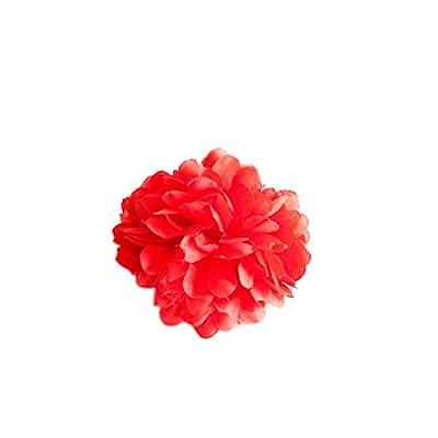 La Senorita Fleur Flamenco Rouge Pour Filles Enfants Pour Cheveux