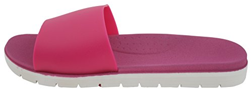 Pink Sandrocks Two Sandal Ladies Slide Pool Flop Flip Tone w6wv1q8