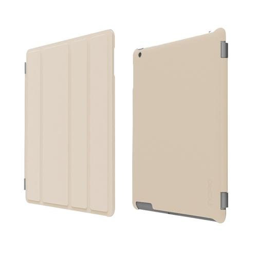 Incipio iPad 2 Smart Feather - Back Cover Only - Ultralight Hard Shell Case - Tan ()