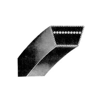 D/&D PowerDrive 97281 BENDIX Corporation Replacement Belt A//4L Belt Cross Section Rubber 56 Length