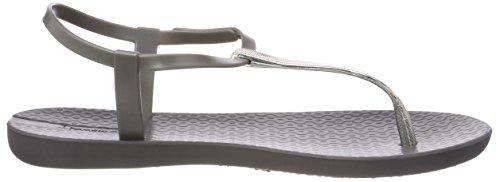 V Grigio 8679 Grey Charm Fem Donna a Sand T con Chiusura Grey Dark Sandali Ipanema q5v6xwv