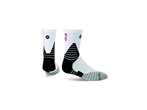 Stance Solid Quarter color white