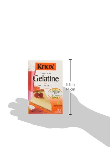 Knox Gelatin, Unflavored, 32 Individual Packets by Knox (Image #5)