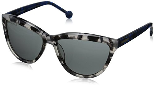 - Jonathan Adler Women's POSIWHI60 Cateye Sunglasses, White/Tortoise UF, 60 mm