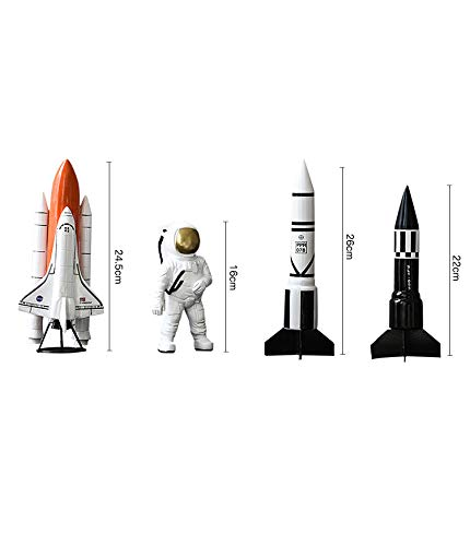 4 pcs/Set Contracted Contemporary Astronaut Decorates Resin to Put Out an Astronaut Shop Window to Display Handicraft by estinko (Image #8)