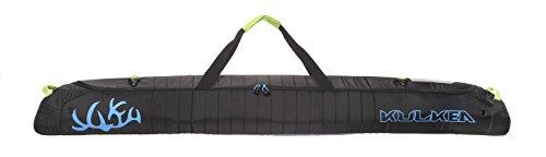 KULKEA Kantaja - Ski Bag, Black/Blue/Green (170 cm) (Ski Boots Bag Atomic)