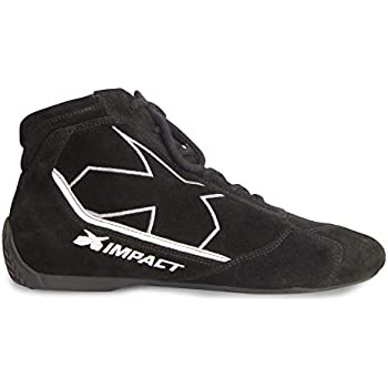 6e2ffd9ef8ce36 Amazon.com  Impact Racing Mens Shoe (Alpha SFI 3.3 5) (Black
