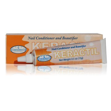 Keractil Nail Treatment - Attractive, Strong, Nails - Stops Thickening, Crumbling, Yellowing. by Med-Actil LLC