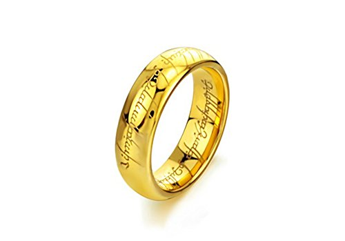 The Lords of the Rings Tungsten Carbide Steel Rings (6)