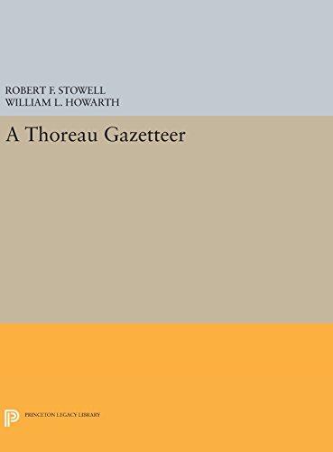 A Thoreau Gazetteer (Princeton Legacy Library)