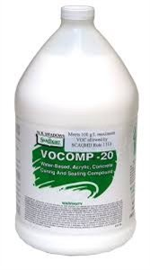 WR Meadows Vocomp-20 Water System Curing and Sealing Compound 1 gal jug 3420210